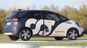 Essai Honda Jazz e:HEV hybrid Alpha Tauri 2020