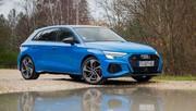 Essai de l'Audi S3 Sportback 2021 : douce sportivité Sereine S3 Malheureux malus