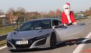 Essai Honda NSX i-VTEC Hybrid Père Noël