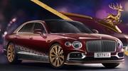 Bentley fournit son traineau au Père Noël, cette année