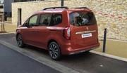 Renault : le nouveau Kangoo surpris dans la rue