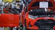 En manque de pièces, Toyota met trois de ses usines à l'arrêt