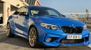 On a serré les fesses en BMW M2 CS Racing
