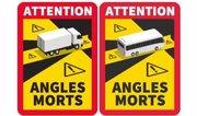 Une nouvelle signalétique pour sensibiliser aux dangers des angles morts