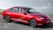 Ioniq 6 : un deuxième modèle électrique pour la nouvelle marque de Hyundai