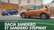 Guide d'achat : Toutes les Dacia Sandero à l'essai : laquelle choisir ?