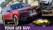 Nouveaux SUV : Tous les modèles attendus en 2021