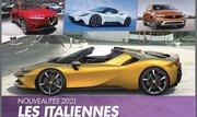 Nouveautés autos. Les modèles italiens lancés en 2021