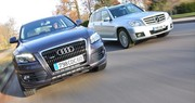 Comparatif Audi Q5 3.0 TDI vs Mercedes GLK 320 CDI : Prime à la classe