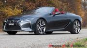 Essai Lexus LC 500 Cabriolet : La belle atmo se découvre et on la redécouvre