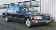 Marche arrière : La Mercedes 600 SEL W140