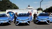 Paris accueille 600 taxis à hydrogène