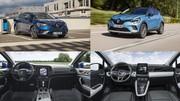 Renault E-Tech Hybrides rechargeables : le Captur face à la Megane