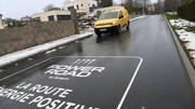 Cette route se déneige d'elle-même
