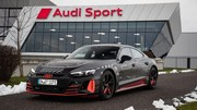 Audi e-tron GT : Présentation le 9 février