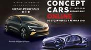 Les concepts-car du Festival Automobile 2021 s'exposent virtuellement