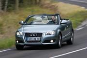 Audi A4 Cabriolet 2.0 TDI 140 DPF Ambition : Discrétion assurée