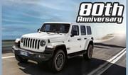 Jeep Wrangler « 80th Anniversary » : mémé fait de la résistance