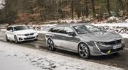 Essai comparatif : la Peugeot 508 PSE SW défie la BMW 330e Touring !