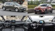 Comparatif Toyota hybrides : Plutôt C-HR ou Corolla ?
