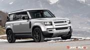 Essai Land Rover Defender 110 P400