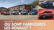 Renault : Où sont fabriqués les modèles de la gamme ?