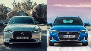 Premier match : Nouvelle DS 4 vs Audi A3 Sportback