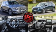 Comparatif SUV 7-places : le Peugeot 5008 BlueHDi 180 face au Mercedes GLB 200d
