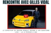 LIVE avec Gilles Vidal : Posez vos questions au patron du style Renault