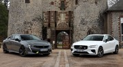 Comparatif vidéo - Peugeot 508 PSE VS Volvo S60 T8 Polestar Engineered : bourgeoises sportives