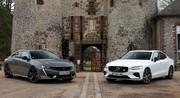 Comparatif vidéo - Peugeot 508 PSE VS Volvo S60 T8 Polestar Engineered : bourgeoises sportives