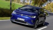 Volkswagen ID.4 : la gamme complète, prix à partir de 39 370 €
