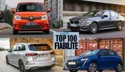 Exclusif : Top 100 des voitures les plus fiables