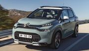 Le Citroën C3 Aircross n'a pas l'air content de son restylage