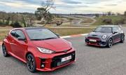 Toyota GR Yaris vs Mini JCW GP : seules au monde