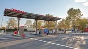 Total ouvre une grande station distribuant du GNV