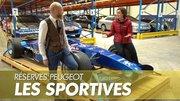 Réserves du musée Peugeot : Rencontre avec les sportives