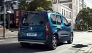 Peugeot e-Rifter : 100 % électrique
