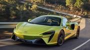 McLaren Artura (2021) : Avec un inédit V6 hybride de 680 ch