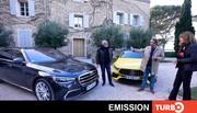 Emission Turbo : Classe S; Elva; Mokka-e; Jazz; Taycan