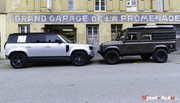 Essai Land Rover Defender : duel intergenerationnel