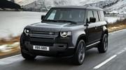 Craignez le Land Rover Defender V8 et ses 525 ch