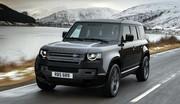 Le nouveau Land Rover Defender passe au V8