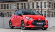 La Toyota Yaris remporte le trophée de la voiture de l'année 2021