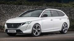 Voici à quoi pourrait ressembler la future Peugeot 308 Break 2021
