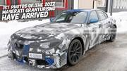 Prototype : La future Maserati GranTurismo se cache sous une Alfa Romeo Giulia