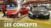 Peugeot : Les concepts des réserves du musée se laissent approcher !