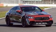 Mercedes-AMG GT 4 portes (2021) : L'hybride rechargeable se montre
