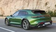 La Porsche Taycan Cross Turismo est arrivée