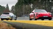 Essai Porsche Taycan 4S vs Panamera 4S hybride : match amical électrifié
